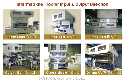 Intermediate Proofer Input output Direction
