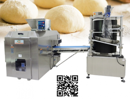 Volumetric Dough Divider Rounder