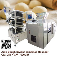Auto Dough Divider combined Rounder