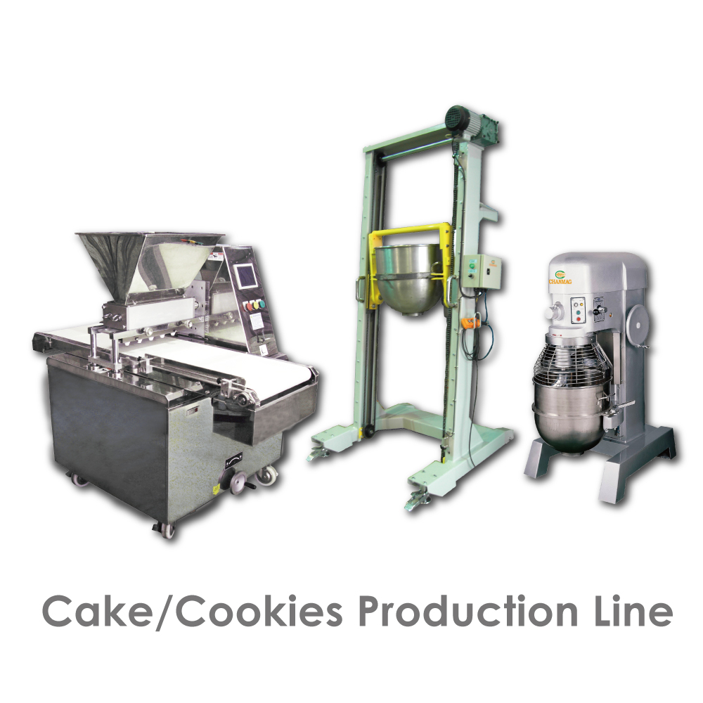 Cake Cookies Production list