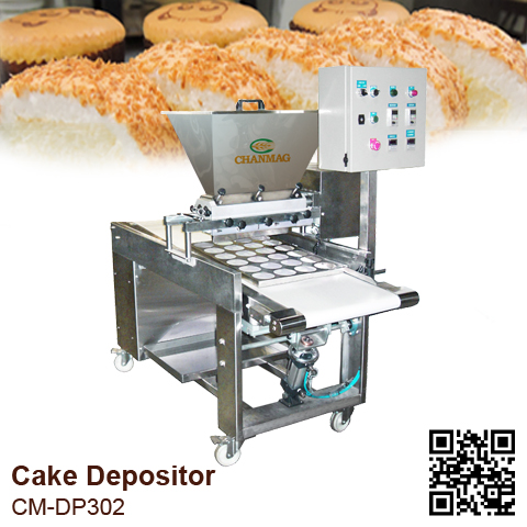 Cake-Depositor_CM-DP320_CHANMAG-Bakery-Machine