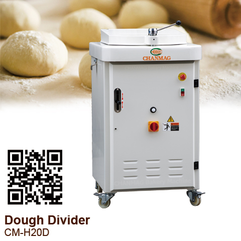 Dough-Divider_Hydraulic_CM-H20D_CHANMAG