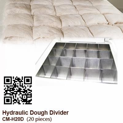 Hydraulic-Dough-Divdier-CM-H20D_20-pieces_CHANMAG-Bakery-Machine-2021