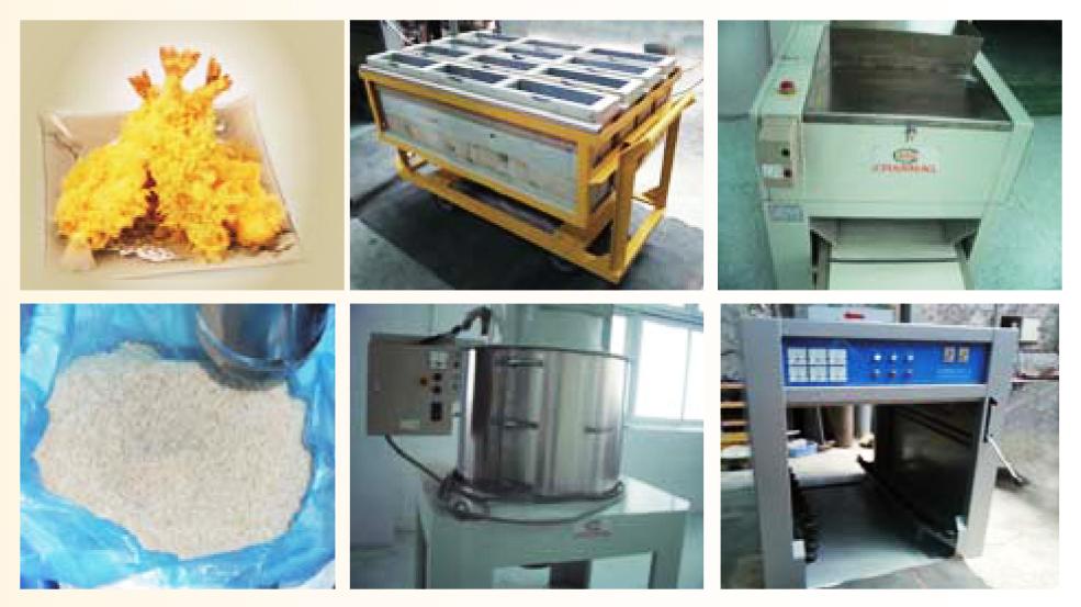 Breadcrumb production line