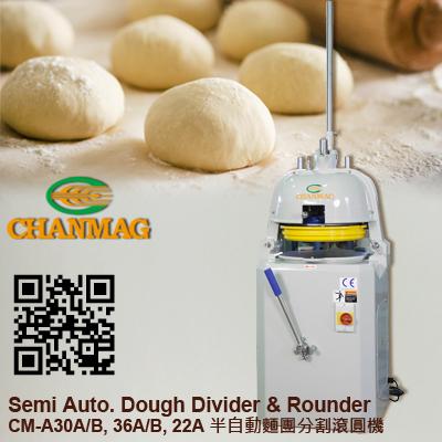 CM-30A Semi-Auto-Dough-Divider-Rounder