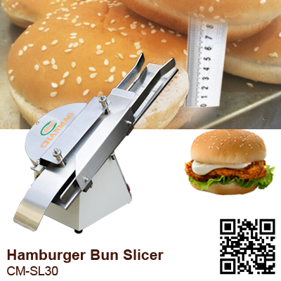 Hamburger Slicer CM-SL30 cutting size
