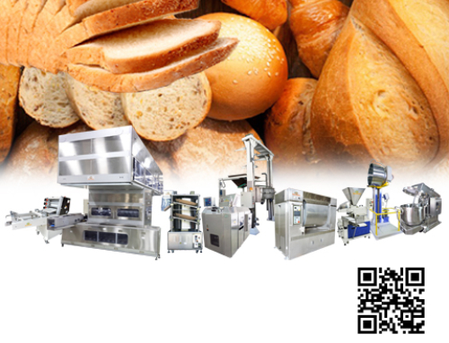 Bread Toast Production line