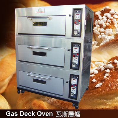 Gas-Deck-Oven-CHANMAG-Bakery-Machine