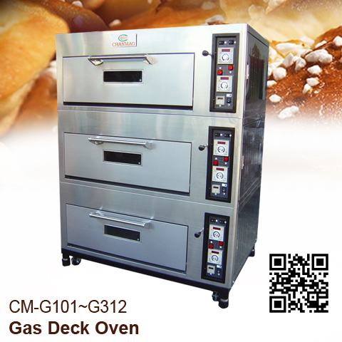 Gas Deck Oven Chanamg-Bakery-Machine