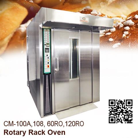 Rotary-Rack-Oven_CM-100A,108,60RO,120RO_Chanamg-Bakery-Machine_2020