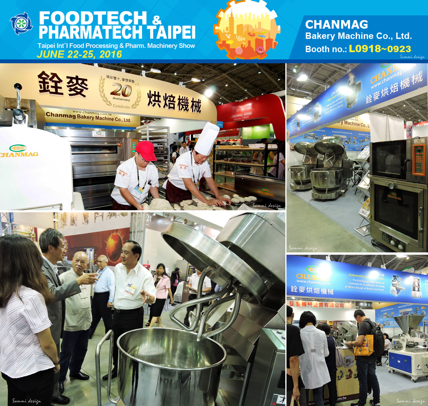 Chanmag Bakery at FOODTECH Taipei Show