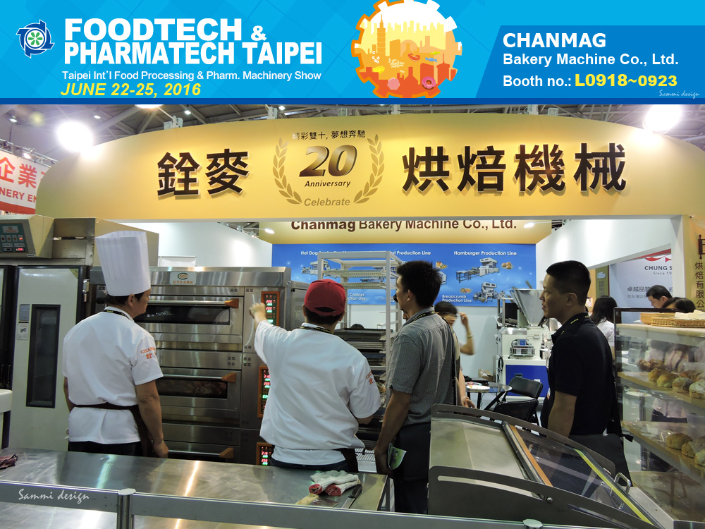 CHANMAG thank you visiting us at FOODTECH Taipei