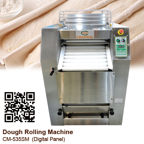 Dough-Rolling-Machine_CM-535SM_Touch-Panel