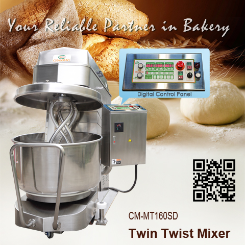 Twin-Twist-Mixer_CM-MT160SD_CHANMAG-Bakery-Machine