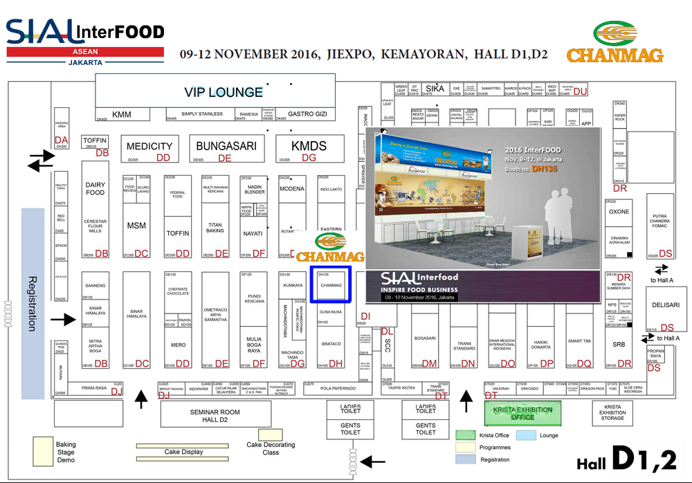 CHANMAG invitation you join us at InterFood 2016