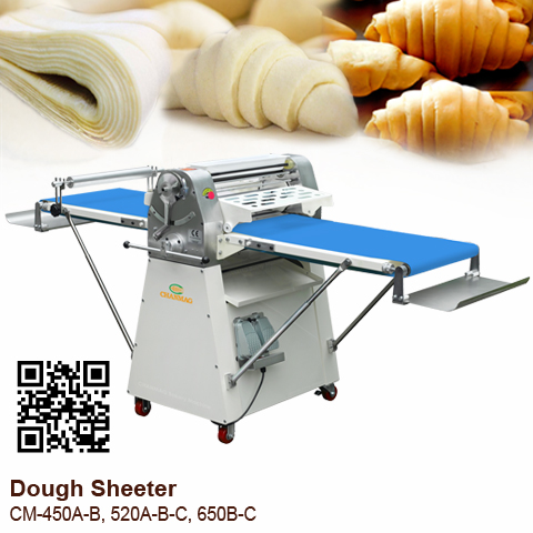 Dough-Sheeter-CM-450A-B,520A-B-C,650B-C_blue-conveyor_CHANMAG_2020