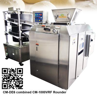 Volumetric Dough Divider CM-DE6 combined Rounder CM-1000VRF