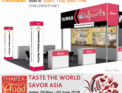 CHANMAG invitation you join us at THAIFEX 2018
