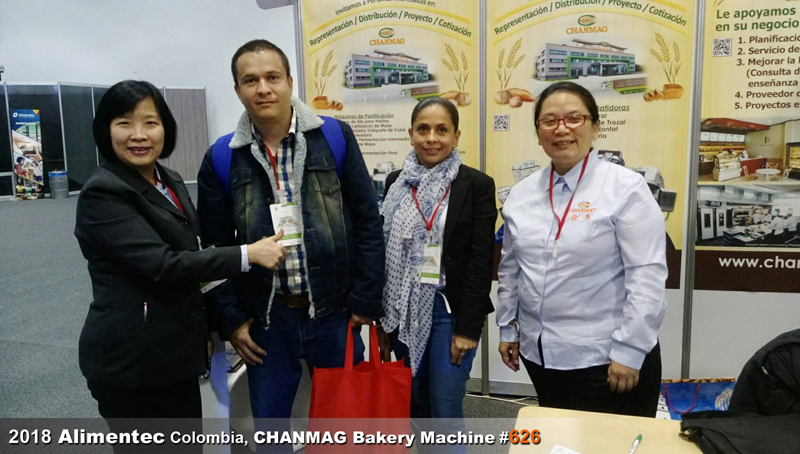 CHANMAG thank you visiting us at Alimentec 2018