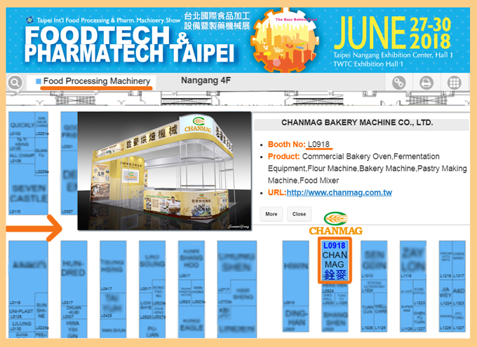 2018foodtech-Taipei_CHANMAG-Bakery-Machine_L0918