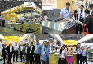 CHANMAG thank you visiting us at Foodtech Taipei 2018