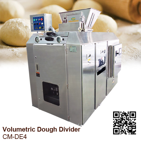 Auto Volumetric Dough Divider CM-DE series