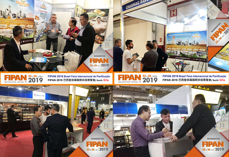 CHANMAG thank you visiting us at FIPAN 2019