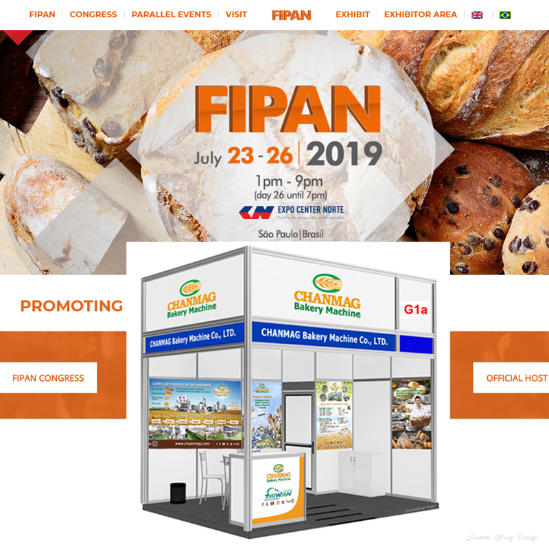 CHANMAG invitation you join us at FIPAN basil 2019