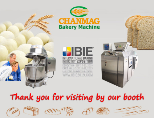 CHANMAG thank you visiting us at IBIE 2019
