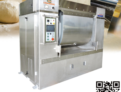 Horizontal Type Mixer for higher humidity of dough