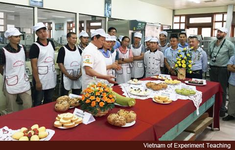 中時電子報: 麵包師傅海外教烘焙 穩固東協市場