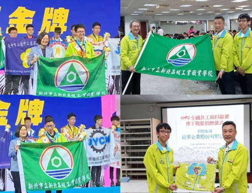 CHANMAG sponsors the Competition Sportswear for New Taipei High School