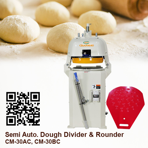 Semi Auto. Dough Divider Rounder