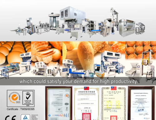 CHANMAG professional the Auto. Bread Production Line of start your Baking business